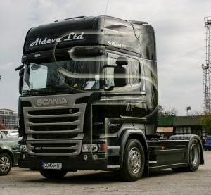 Брандиране на Камиони1