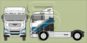 Проект Брандиране камион